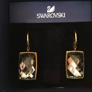 Swarovski nirvana pierced earrings